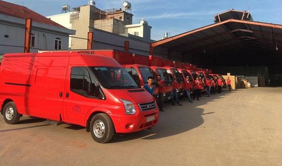 Dịch vụ chuyển kho xưởng trọn gói